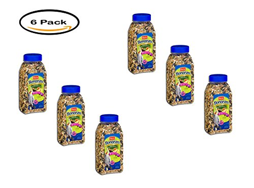 PACK OF 6 - Hartz Bonanza Cockatiel Diet Health & Vitality, 24.0 OZ by HARTZ