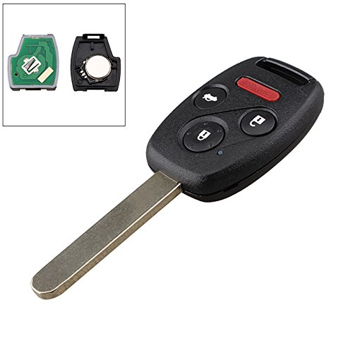Electrical Engine Sedan (ePathChina 4 Buttons Replacement Key Fob Car Keyless Entry Remote for Honda Civic with Chip 313.8Mhz)