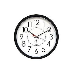 Comfyleads Electric Contemporary Clock Black Chicago Lighthouse 14-1/2