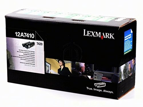 12A7410 12A7310 Genuine New Lexmark Black Toner T420D T420DN 5,000 - T420dn Laser Printer