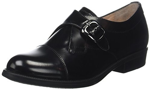 Nero Nero Brush Donna Scarpe Clyde Stonefly Oxford 22 Off Black Stringate TxgFCwq