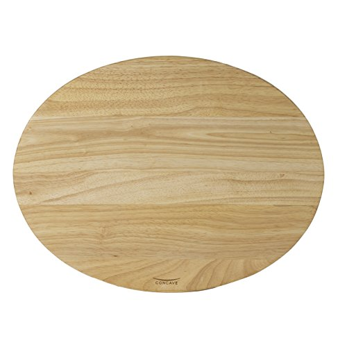 Architec XL Concave Carving Board, Beechwood Gripperwood Collection with Non-slip Gripper Feet, 22 by 16-Inches