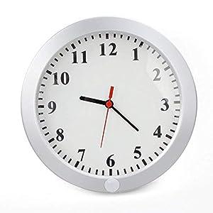 Cámara espía reloj pared