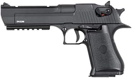 Pack Pistola Airsoft Cyma-CM122S / Plástico de Alta Resistencia/Color Negro/Eléctrico (0,5 Julios) / Semi-Automático/Batería Lipo y Mossfet