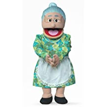 Granny Hispanic Professional Puppets Kids Toys with Removable Legs, 30 in.