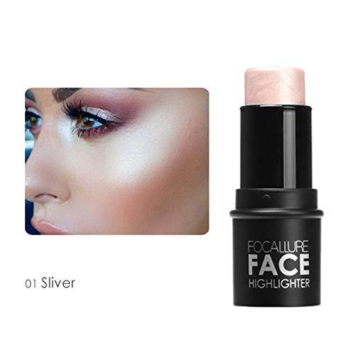 4 Colors Highlighter Bronzer Stick Makeup Face 3D Contour Cosmetics Shimmer Brighten Skin Highlighting Make Up