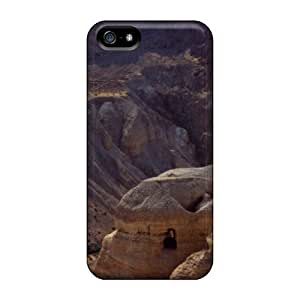 5/5s Scratch-proof Protection Case Cover For Iphone/ Hot Cave Of The Dead Sea Scrolls Qumran Cave Israel Phone Case