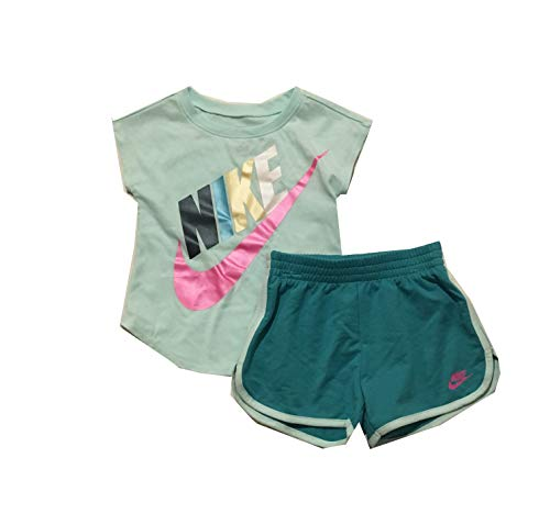 Nike Infant Girls T-Shirt and Shorts Set Cabana 12 Months