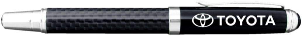 Toyota Carbon Fiber Detachable Cap Rollerball Pen
