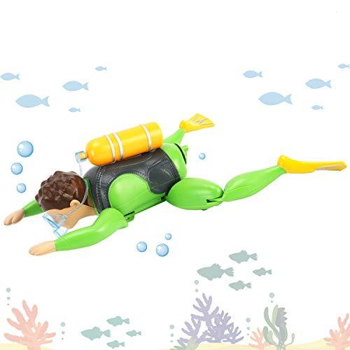 Scuba Diver Baby - Underwater Adventurer Scuba Diver Man Swimming