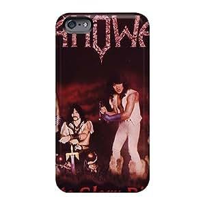 AlainTanielian Iphone 6plus Shock Absorbent Hard Cell-phone Case Provide Private Custom Nice Manowar Band Series [Fza13061NNmO]