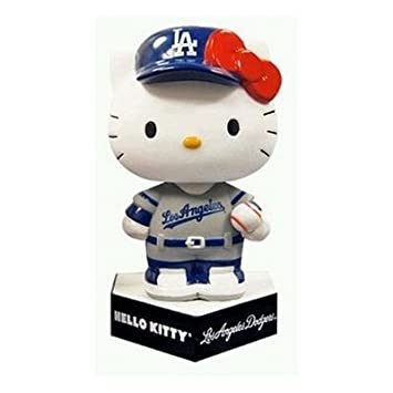 7b76cd249 Collaboration bobblehead of [not for sale] Hello Kitty & Dodgers limited  distribution Fan Appreciation Day to ...