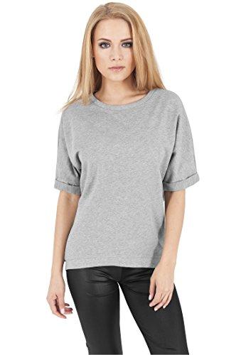 ... Urban Classics TB1052 Ladies Short Sleeve Terry Crew Shirt T-Shirt Damen  , Farbe: ...