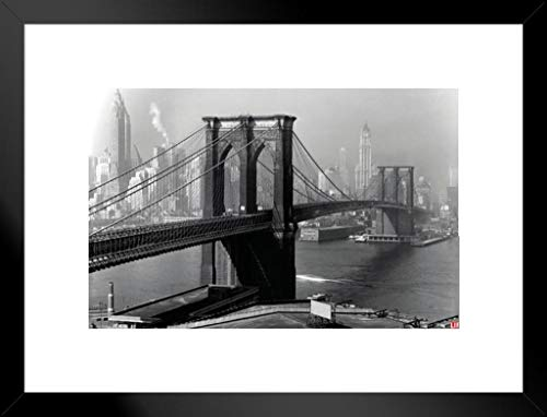 Pyramid America Time Life Brooklyn, 1946 Photo Art Print Matted Framed Poster 20x26 inch