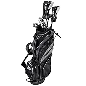 Amazon.com : Orlimar Sport ATS Matte Black Complete Golf Set, Men's, Right Hand, Regular Flex