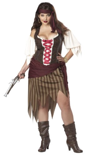 California-Costumes-Plus-Size-Buccaneer-Beauty-Top-Costume