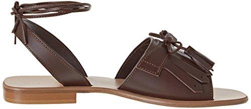 Pennyblack Secolo, Women's Heeled Shoes with Closed Toe Marrone (Marrone Scuro)