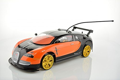 RC Electric Drift Car 1:10 Scale - 2WD - 20MPH - Radio Control Racing Cars and Trucks by CIS-Associates, Bugatti