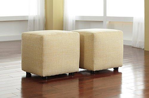 Cube Ottoman Upholstery - 7