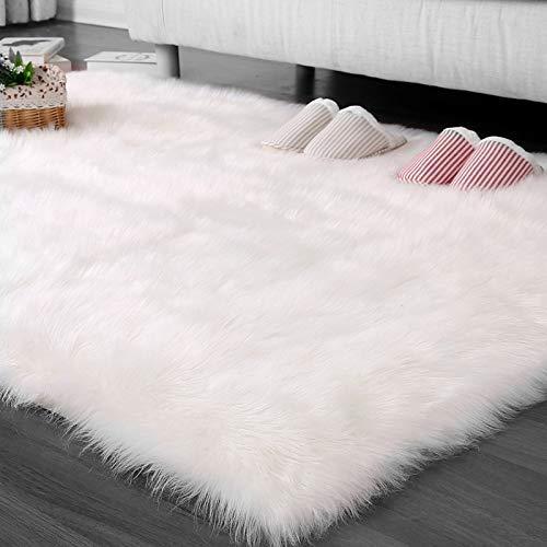 MODKOY Pelo Largo alfombras Rectángulo 40x100cm ...