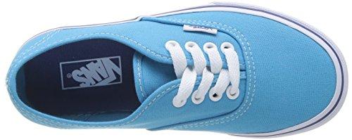 Vans AUTHENTIC - zapatilla deportiva de lona infantil azul - Blau (cyan blue/true FRY)