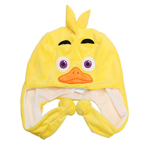 [Five Nights at Freddy's Plush Hats Chica for Kids] (Mangle Costume Ideas)