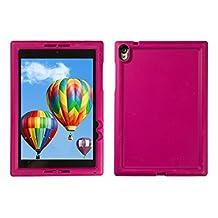 Bobj Rugged Case for Nexus 9 Tablet - BobjGear Protective Cover (Rockin' Raspberry)
