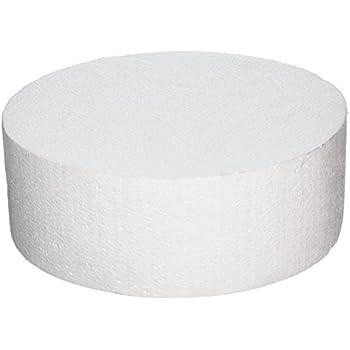 White 11 x 5 11 x 5 Oasis Supply 747091 Dummy Round Cake