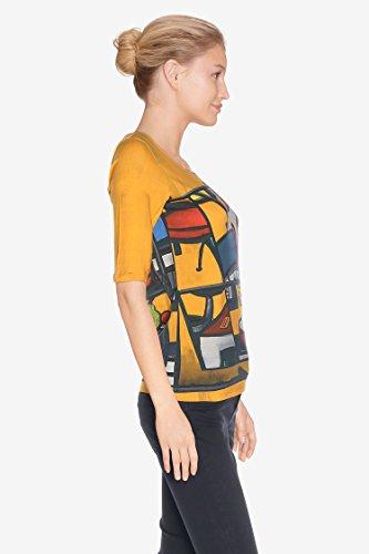 Aventures des toiles t-shirt jaune 937303 taille 44
