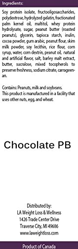 LA Weight Loss Bars - Chocolate Peanut Butter & Chocolate Mint - 8 Boxes by L A Weight Loss & Wellness (Image #6)