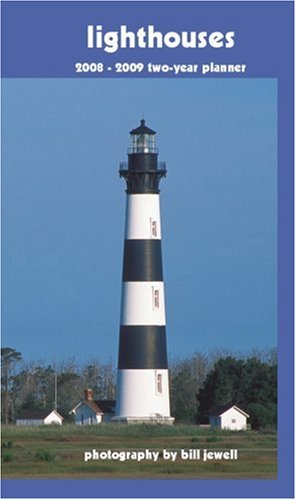 Lighthouses 2008-2009 Pocket Planner Calendar (German, French, Spanish and English Edition)