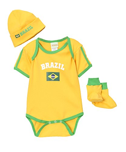 PAM Baby Brazil Three Piece Set 9mo