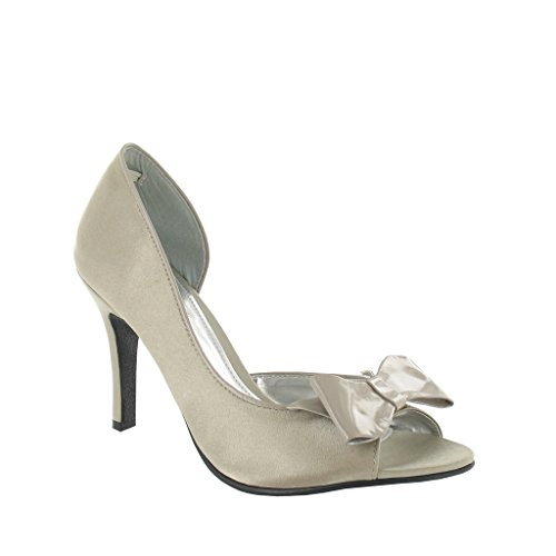 LEXUS - Zapatos de vestir para mujer Beige - gris