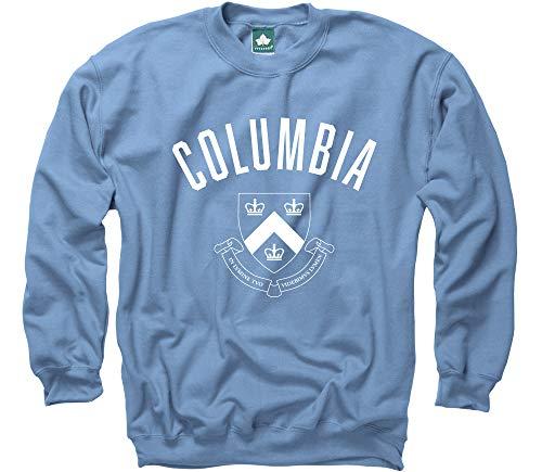Ivysport Columbia University Crewneck Sweatshirt, Legacy, Columbia Blue, Small