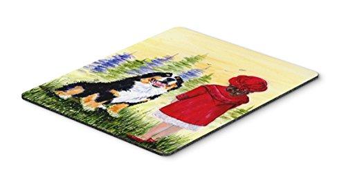 Caroline's Treasures Mouse/Hot Pad/Trivet, Little Girl with Her Bernese Mountain Dog - Trivet Girl