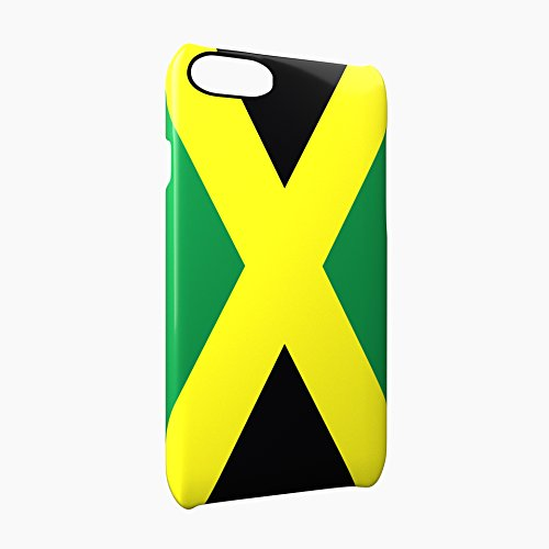 Flag of Jamaica Glossy Hard Snap-On Protective iPhone 7 Case Cover