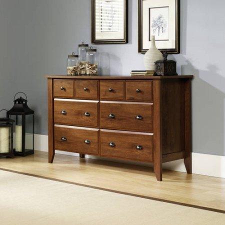 Review Sauder Shoal Creek Dresser, Contemporary design (Oiled Oak) By Sauder by Sauder