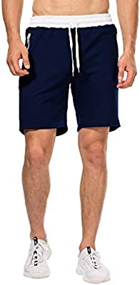 Pantalones Cortos Deportivos para Hombre, Pantalones de Hombre con ...