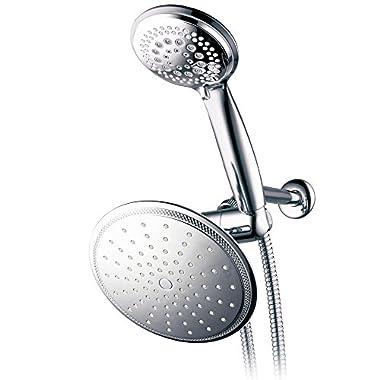 DreamSpa 1432 3-way Rainfall Shower-Head and Handheld Shower, Chrome