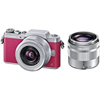 Panasonic DMC-GF7WP Compact System Camera (DSLM) with 12-32mm + 35-100mm Kit - International Version (No Warranty)