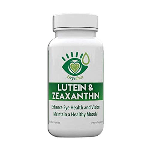 Lutein and Zeaxanthin Vision Supplement – Eye Vitamins to Enhance Eye Health, Vision, and Maintain a Healthy Macula and Retina | Non-GMO, No Soy, Gluten-Free, Dairy-Free, Made in USA (1-Month Supply)