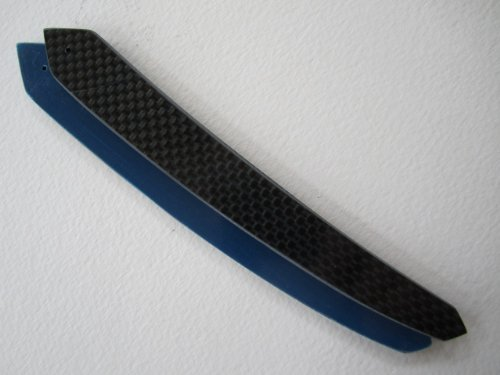 Razor Scales -Carbon Fiber Black on Blue, Average Size, for sale  Delivered anywhere in USA