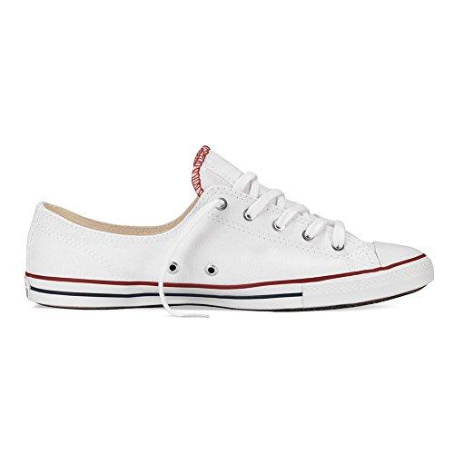 Converse Womens Chuck Taylor Fancy Ox Ankle-High Fashion Sneaker White rYCLgvnE5