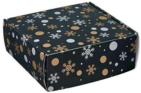 3 Pack of Big Christmas Gift Boxes For Clothing and 100 Self Adhesive Gift Tags