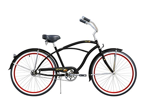 Micargi Bicycles Industries TAHITI-M-BK/Red Ride On, Blac...