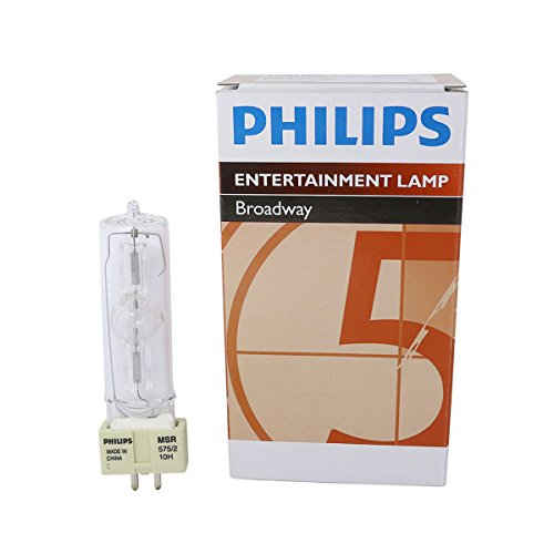 Webster 2 Light - Philips MSR 575/2 10H 575W AC Lamp for Touring/Stage Lighting