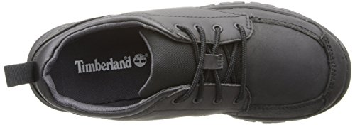 Timberland Discovery Pass Plain-Toe Oxford Shoe (Toddler/Little Kid/Big Kid) Black