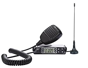 Midland Consumer Radio MXT105 Micro Mobile 5 W Gmrs Radio with Weather