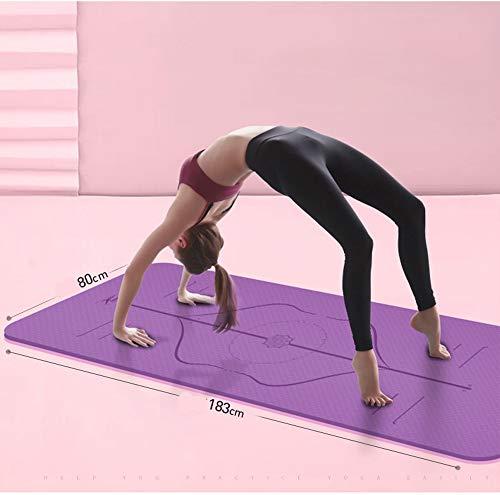Amazon.com : YXGYJD Pilates Mat Yoga Mat Dance Fitness Yoga ...