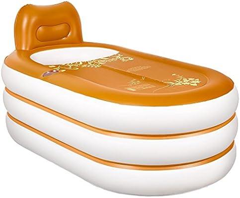lyy Bañera doble gruesa hinchable inflable cálida bañera de ...